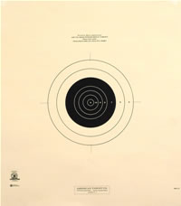 100 Yard Reduction of 600 Yard Military Target