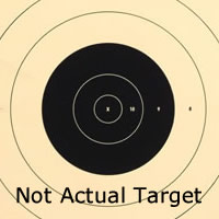 Center for SR 1 - 100 Yard Reduction of 200 Yard Military Target