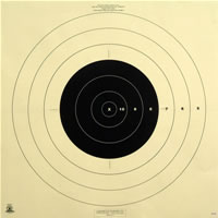 200 Yard Reduction of 300 Yard Military Target
