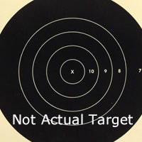 Center for 200 Yard Reduction of 600 Yard Target