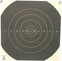 300 Yard Reduction of 600 Yard Target F-Class