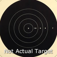 Center for 300 Yard Reduction of 600 Yard Target