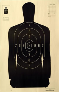 B 21 Police Shooting Targets Law Enforcement Shooti...