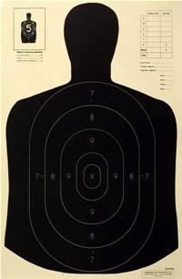 B 21 Police Shooting Targets Law Enforcement Shooti...