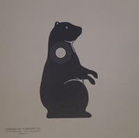 Prarie Dog Animal Paper Target