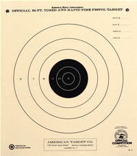 graphic about Printable Nra Pistol Targets titled Pistol Capturing Ambitions - American Focus Organization