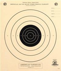photograph about Nra B-8 Target Printable identify Pistol Capturing Goals - American Aim Business enterprise