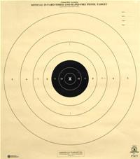 image regarding Nra B-8 Target Printable named Pistol Taking pictures Aims - American Emphasis Enterprise