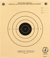 image regarding Printable Nra Pistol Targets named Pistol Capturing Plans - American Concentration Organization